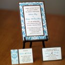 130x130 sq 1301680553021 tealandbrowndamaskweddinginvitations