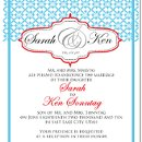 130x130 sq 1301680557052 tealandredweddinginvitation