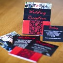 130x130 sq 1301681265912 pinkandblacktieredcustomweddinginvitation108