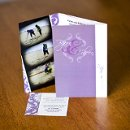 130x130 sq 1301681287458 purplephotoboothphotocardweddinginvitations144