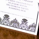 130x130 sq 1301681349787 blackandwhitedamaskweddinginvitations258