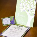130x130 sq 1301681356099 greenandpurpleuniqueweddinginvitations265