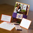 130x130 sq 1301681412037 orangeandpurplecustomweddinginvitations325
