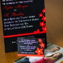 130x130 sq 1301681435396 redandblackflowermodernweddinginvitations359