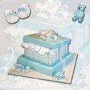 130x130 sq 1256831181255 giftboxbabyshowercake