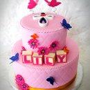 130x130 sq 1276797472139 pinkbaptismcakesm