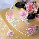 130x130 sq 1297269864460 brushembroiderycloseupcakeyellowwedding