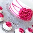 130x130 sq 1297269896491 pinkandwhitepeonycakeandcupcakes