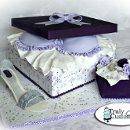 130x130 sq 1304470937107 bridalshowergiftboxbradiamondringshoecake