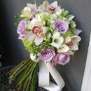 130x130 sq 1261707738035 bouquetpurpleandgreenwithorchids