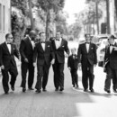 130x130 sq 1427657575771 groomsmen walking to downtown ceremony location ch