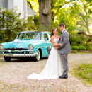 130x130 sq 1427658002126 couple standing in front of a classic car the ivy