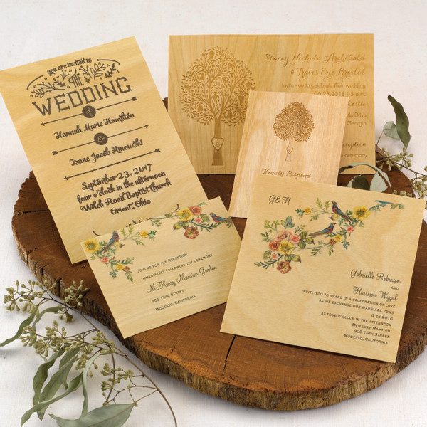 1478535942924 Wood1 Grandville wedding invitation