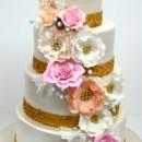 130x130 sq 1487103617949 wedding cakes nj   pastel sugar flowers custom cak