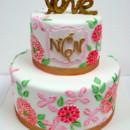 130x130 sq 1487107008138 engagement cakes nj   lily pulitzer themed custom