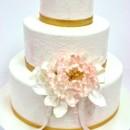 130x130 sq 1487107099426 bridal shower cakes nj   pink peony custom cakes