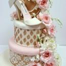 130x130 sq 1487107141693 bridal shower cakes nj   sugar shoe and sugar flow