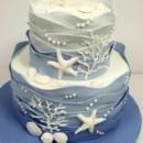 130x130 sq 1487107163234 bridal shower cakes nj   starfish custom cakes