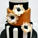 130x130 sq 1487107281337 bridal shower cakes new jersey   black and gold cu