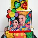 130x130 sq 1487107798730 wedding cakes connecticut   britto pop art custom