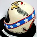 130x130 sq 1487107892605 birthday cakes nj   evel knievel helmet specialty