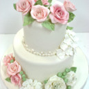 130x130 sq 1487108375120 engagement cakes new jersey   pastel sugar flowers