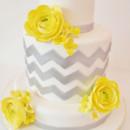 130x130 sq 1487108474063 bridal shower cakes new york   chevron custom cake