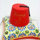 130x130 sq 1487108578837 engagement cakes nj   turkish pillow and fez custo
