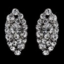 130x130 sq 1392307730920 marquise stud earrings silver clear crystal 870