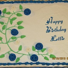 220x220 sq 1287886511330 lettie70thbirthdaycake02