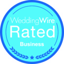 130x130 sq 1386306398058 weddingwire rated blue busines