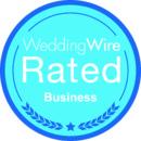 130x130 sq 1386306398058 weddingwire rated blue busines