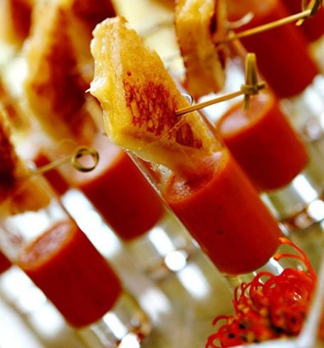 1493333901246 Tomato Bisque Shots   Passed Apps Miami wedding catering