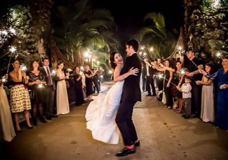 1493333936628 Sparkler Send Off Deering Miami wedding catering