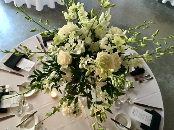 1493333984883 Green And White Centerpiece Miami wedding catering