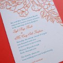 130x130 sq 1258676863912 letterpress.trumpetvine.wedding.invitation
