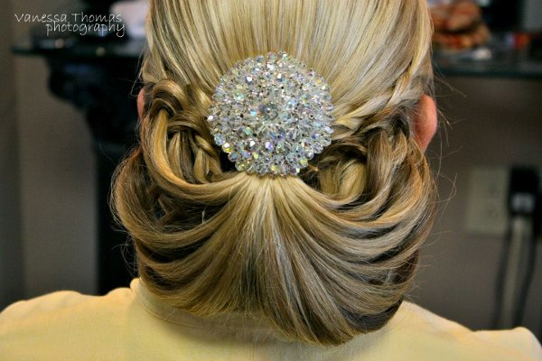 photo 9 of Artworx Bridal Hair Design