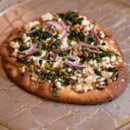 130x130 sq 1493749752627 spring grilled flatbread goat cheese red onion kal