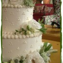 130x130 sq 1376871301038 small wedding cake with fresh flowers