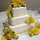 130x130 sq 1306601133286 3tierweddingcakeyellowroses