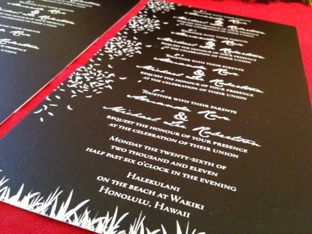 Spokane wedding invitations reviews for 5 invitations chic design stopboris Image collections