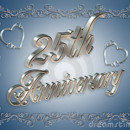 130x130 sq 1378135629327 25th happy wedding anniversary
