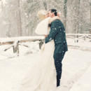 130x130 sq 1420939670321 snowy winter wedding 022