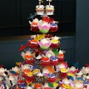130x130 sq 1313294611560 tropicalhibiscuscupcakeweddingcloseup