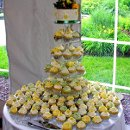 130x130 sq 1343171071464 sagegreenbuttercupyellowcupcakewedding6.3.12