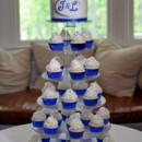 130x130 sq 1369187863569 royal blue monogram cupcake wedding kemble inn lenox may 2013