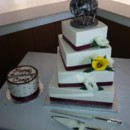 130x130 sq 1369960410716 twisted square offset burgandy country western theme wedding may 2013