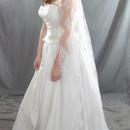 130x130 sq 1413904571197 allover lace veil 3