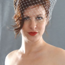 130x130 sq 1415425615657 wide net birdcage veil