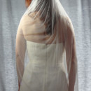 130x130 sq 1416335105776 silk tulle veil back